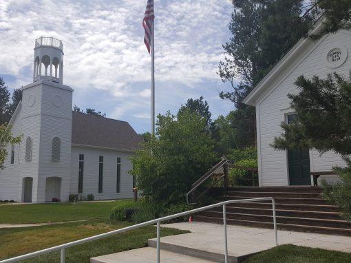 Replica of First Presbyterian Church