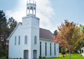 Replica of First Presbyterian Church